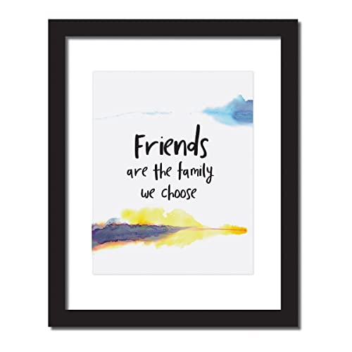 Amazoncom Best Friend Decor Gift Friends Are The Family We Choose