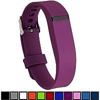 DelTex® Band/Band Met Veilige Verstelbare Gesp Bevestiging Voor Fitbit Flex Activiteit Tracker Draadloze Polsband Armband