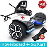 """GYROOR T581 Hoverboard 6.5"""" Off Road All Terrain Hoverboards with Bluetooth Speaker&LED Lights Two-Wheel Self Balancing Hover"""
