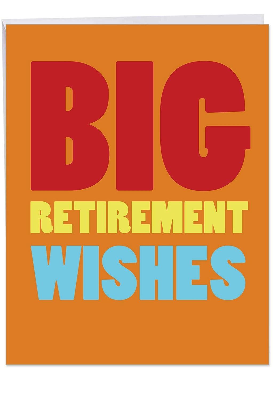 Grandes deseos de jubilación tarjeta de jubilación divertido ...