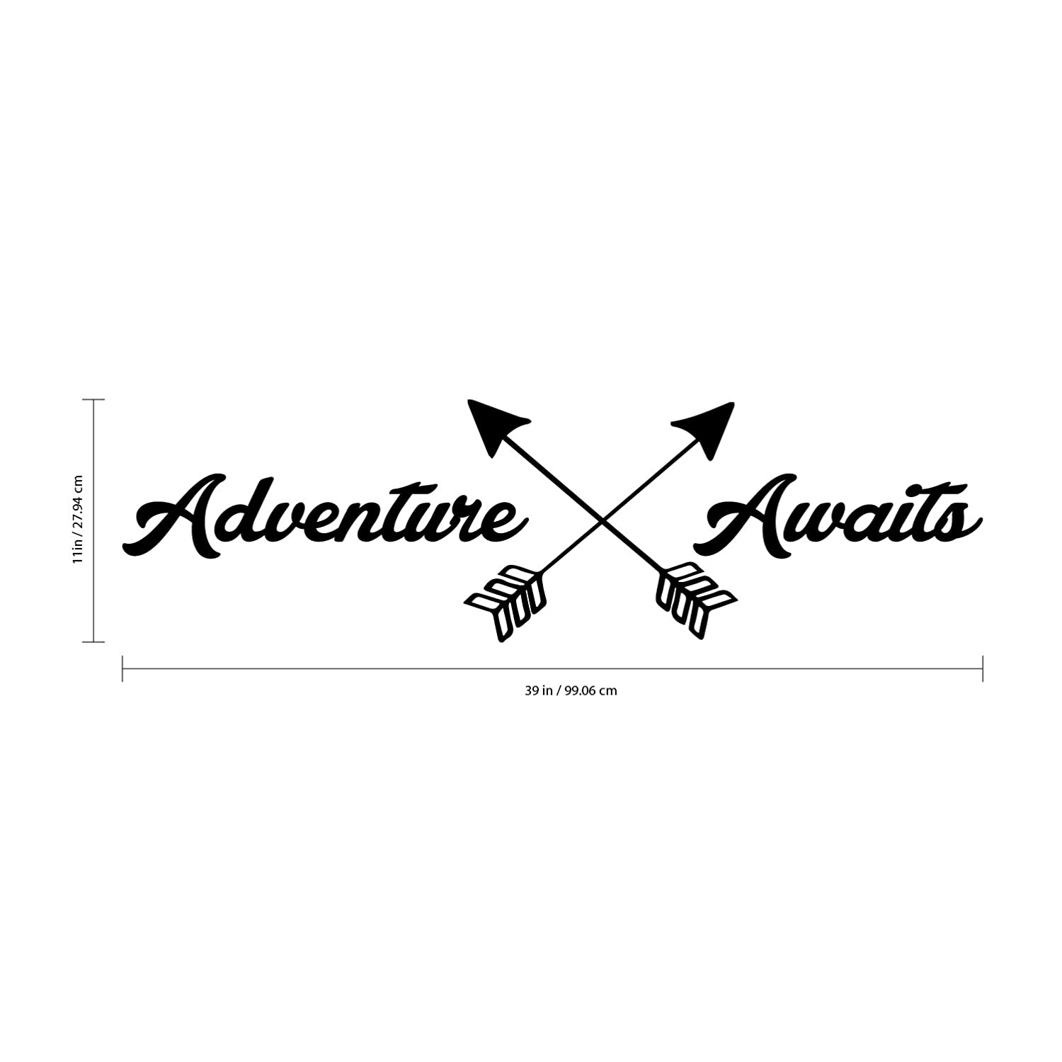 Amazon Com Adventure Awaits Lettering Inspirational Life Quotes