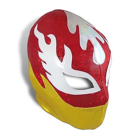 Luchador de Fuego Mexican Pro-Wrestling Lycra Mask- Lucha Libre Mask