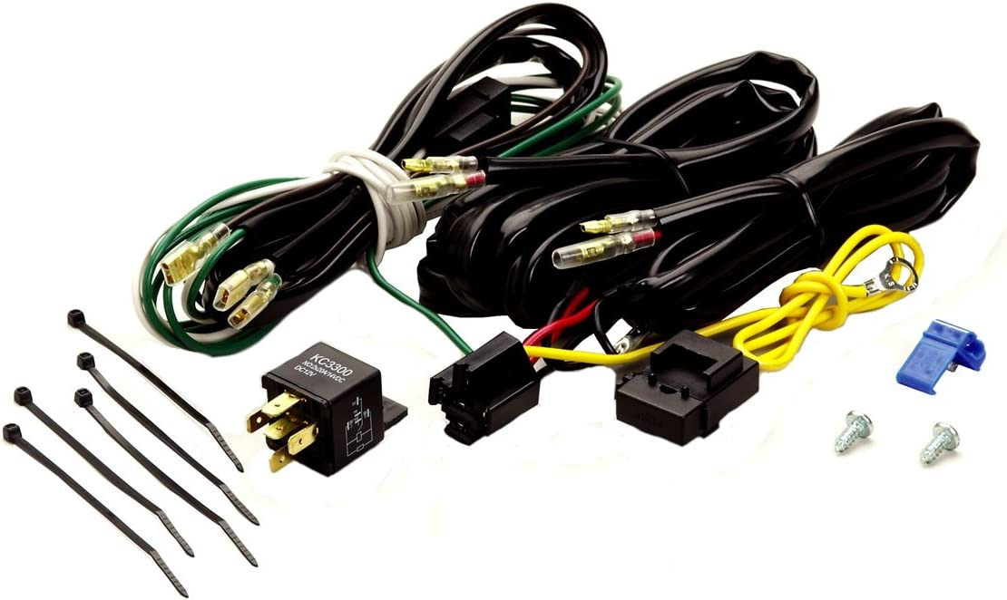 Amazon.com: KC HiLiTES 6316 Add-On Harness - Up to 2 Lights ... earth load supply switch diagram Amazon.com