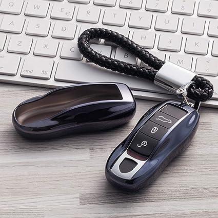 QCYSTBTG Funda Protectora de TPU Suave, para Porsche Cayenne ...