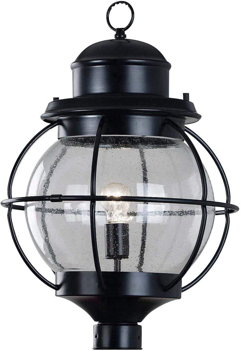 Kenroy Home 90967BL Hatteras Lanterns, 23.5 Inch Height, 15 Inch Diameter, Black