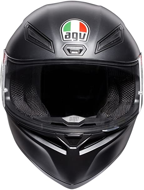 Amazon.es: AGV Casco sólido K1 E2205, color negro mate, talla mediana/grande