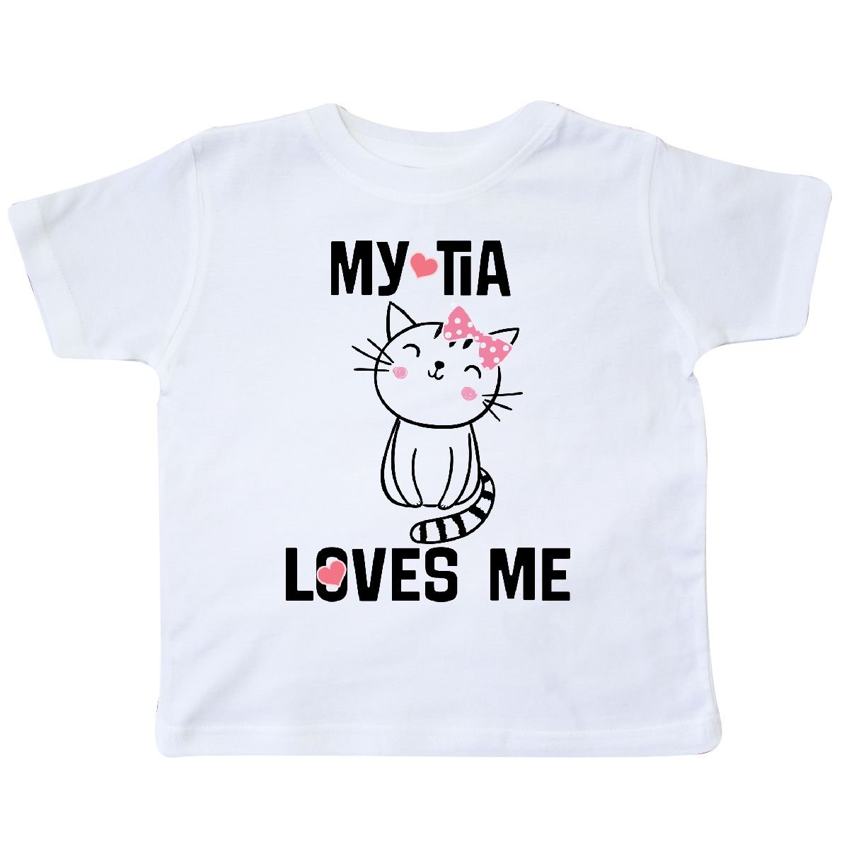 inktastic My Tia Loves Me Niece Gift Toddler T-Shirt