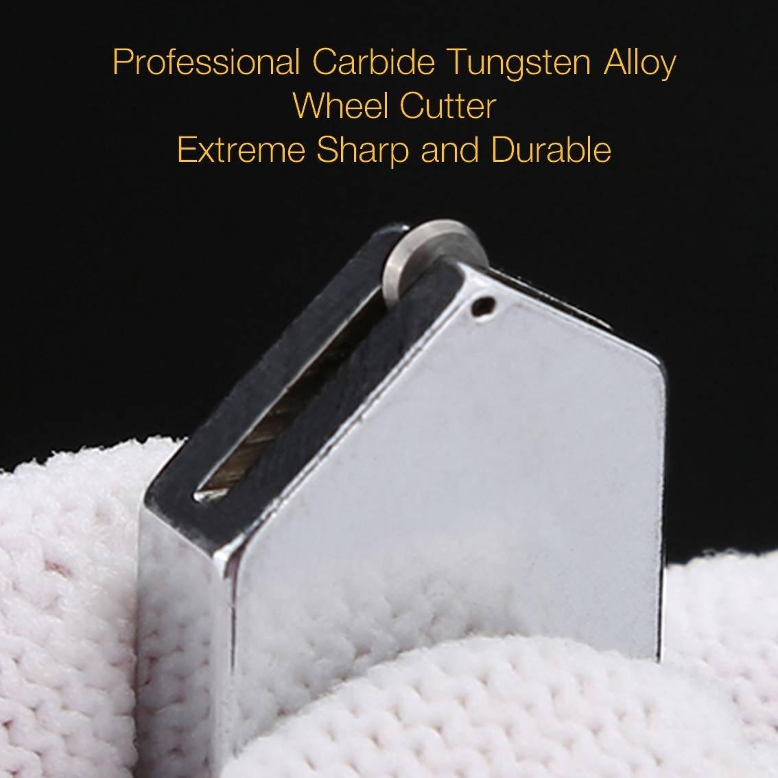 Gama profesional herramienta mango de aleación de carburo de tungsteno cortador de cristal con 2 - 19 mm self-oiling profesional cuchilla para vidrio ...