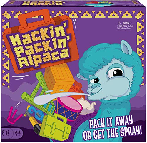Hackin' Packin' Alpaca is a top toy for boys ages 6 to 8 for Christmas in 2019