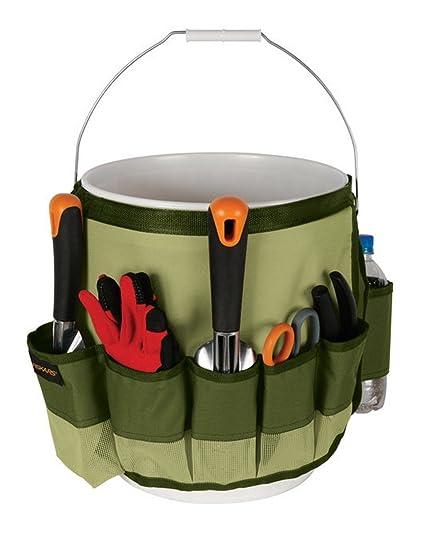 Etonnant Fiskars 9424 Garden Bucket Caddy 5 Gallon Yard Tool Carrier Holder Organizer  NEW ;P#