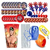 WWE World Wrestling Entertainment (8) Pre-Filled Party Favor Cups! Perfect To Use As Party Favors Goodie Bags & Gifts!
