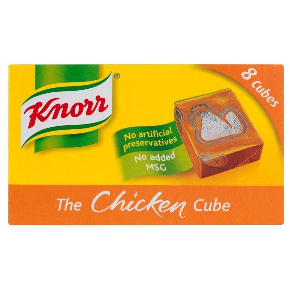 Knorr Stock Cubes Chicken (8x10g) - Pack of 2 by Knorr
