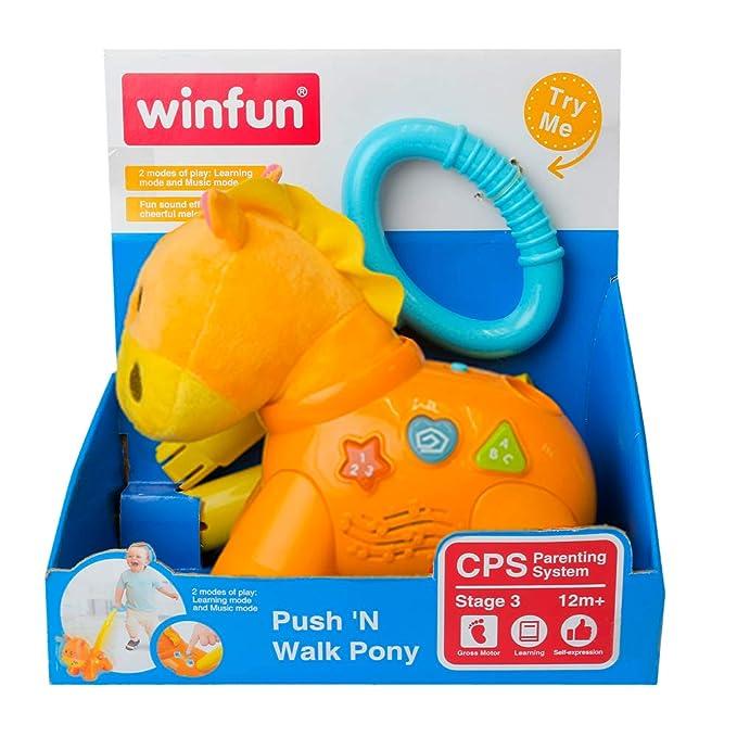 winfun - Andador Pony con luces y sonidos (40305)