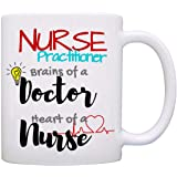 Fun Nurse Practitioner Coffee Mug, a Cool, Unique Gift and Printed on Both Sides