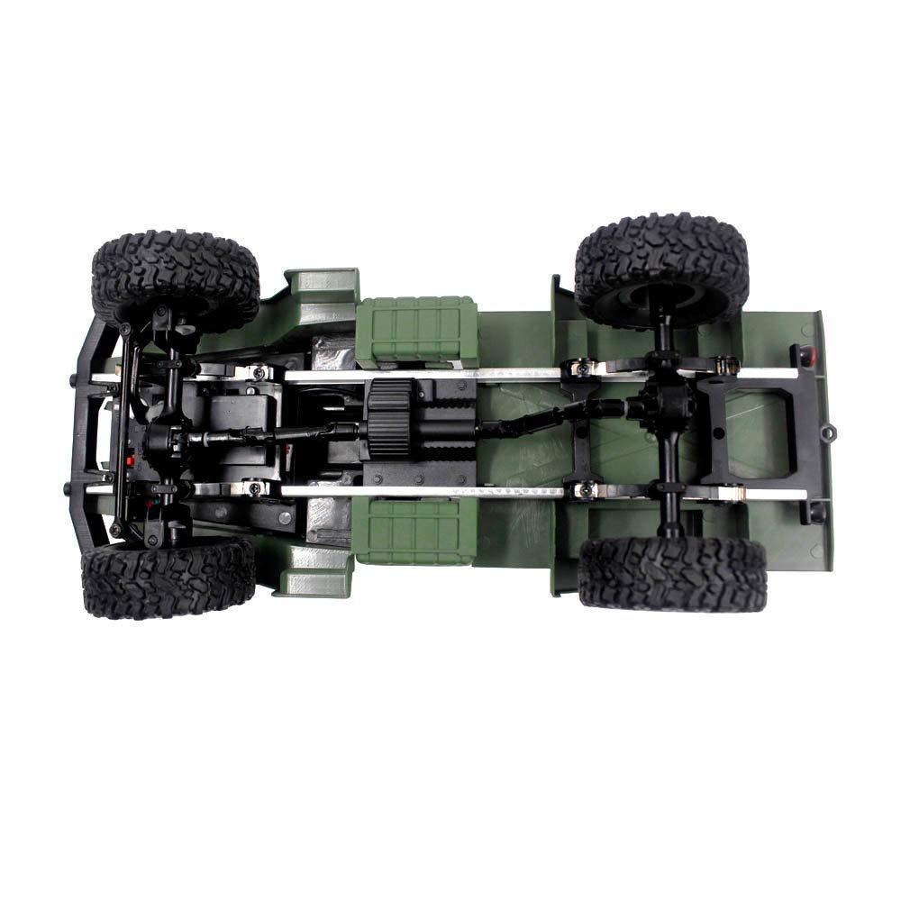 Choosebuy 1:16 Military Off-Road Remote Control Truck, Cool 6WD Powerful Engine Bright Spotlights RC Tracked Cars Toys with 2.4GHz Technology for Indoors/Outdoors (Army Green) by Choosebuy (Image #5)