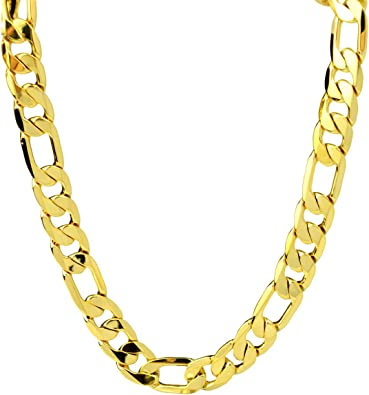 collier or jaune homme