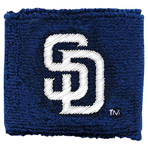 Franklin Sports MLB San Diego Padres Team Wristbands