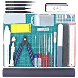 Rustark 36Pcs Modeler Basic Tools Craft Set Hobby Building Tools Kit For Gundam Car Model Building