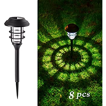 Amazon sogrand 8pcs pack solar lights outdoor light gigalumi solar pathway lights outdoor waterproof outdoor solar lights for garden landscape path yard patio driveway walkway 8 pack aloadofball Image collections