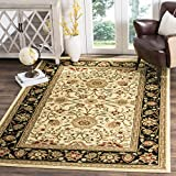 Safavieh Lyndhurst Collection LNH212B Traditional Oriental Ivory and Black Area Rug (8' x 11')