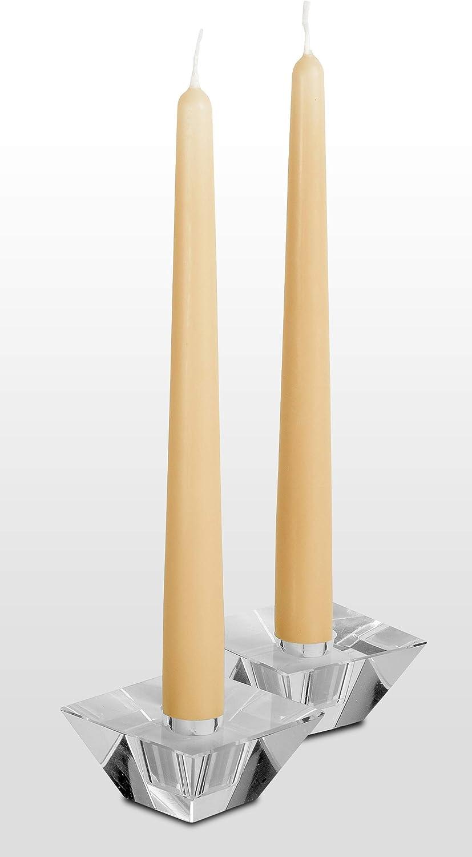 Hyoola Paquet de 12 Bougies Grand Dripless Bougie Bougie D/îner Unscented Paraffine avec du Coton Wicks 10 Heures Temps Burn 12 Pouces Bourgogne