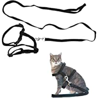 Dingo Fun Cat Harness with Leash Pink 21022 Fabric Set with Adjustment