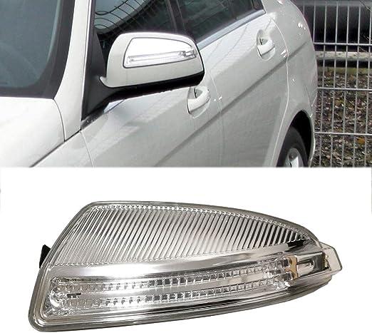 Suuonee Turn Signal Light 2Pcs Car Side Mirror Lamp Turn Signal Light Fit for Mercedes-Benz C-Class C250 C300