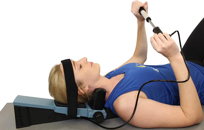 Cervical Home Pneumatic Pump Traction Unit - Neck Pain Relief for Cervicalgia, Degeneration of disc, Spondylosis, Spine Alignment by Brace Direct
