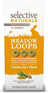 Selective Naturals Meadow Loops For Rabbits With Timothy Hay And Thyme