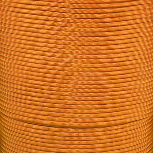 Old Strand - Paracord Planet 550 Cord Type III 7 Strand Paracord 50 Foot Hank - Old Gold