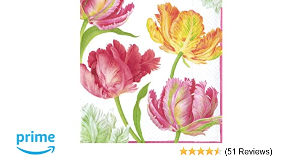 1 Sheets of Luxury Tulips Poison Wrap WRAPPING PAPER Musée /& Galleries