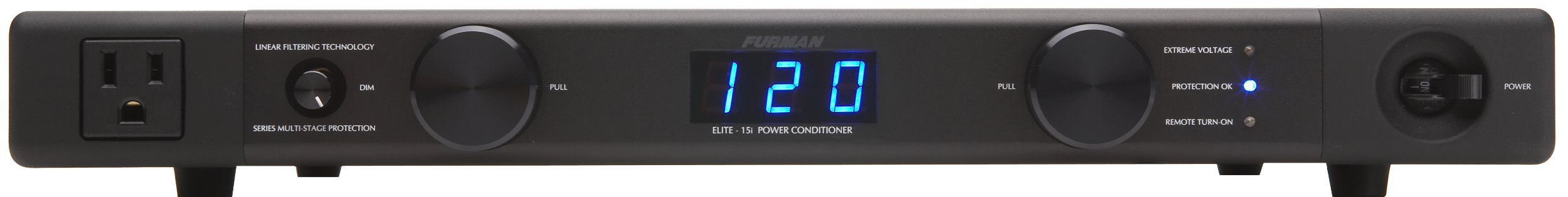 Furman Elite-15i 7-Outlet Linear Filtering AC Power Source (Renewed)