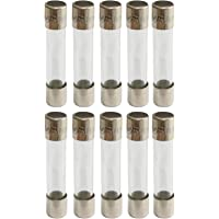 AERZETIX: Juego de 10 fusibles de vidrio 2cm