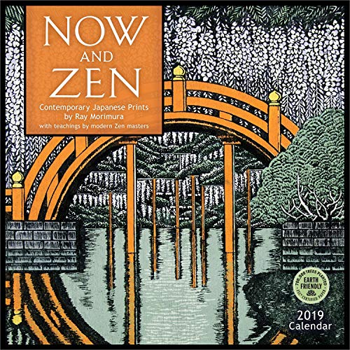 Cool Calendar - Now and Zen 2019 Wall Calendar: Contemporary Japanese Prints by Ray Morimura