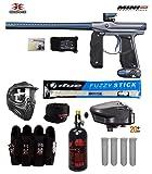 Empire Mini GS Tournament Elite Paintball Gun Package B - Dust Grey/Navy