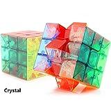 Wings of wind - 3x3x3 geschwindigkeit zauberwürfel , umweltfreundliche kunststoffe zauberwürfel stickerless glatt puzzle cube (Transparent)
