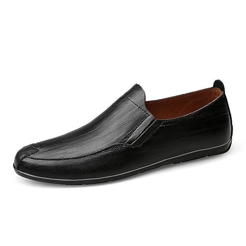 Scarpe in Pelle Maschile Scarpe Casual Scarpe da Lavoro Pattini in Pizzo Scarpe Maree Scarpe all'aperto