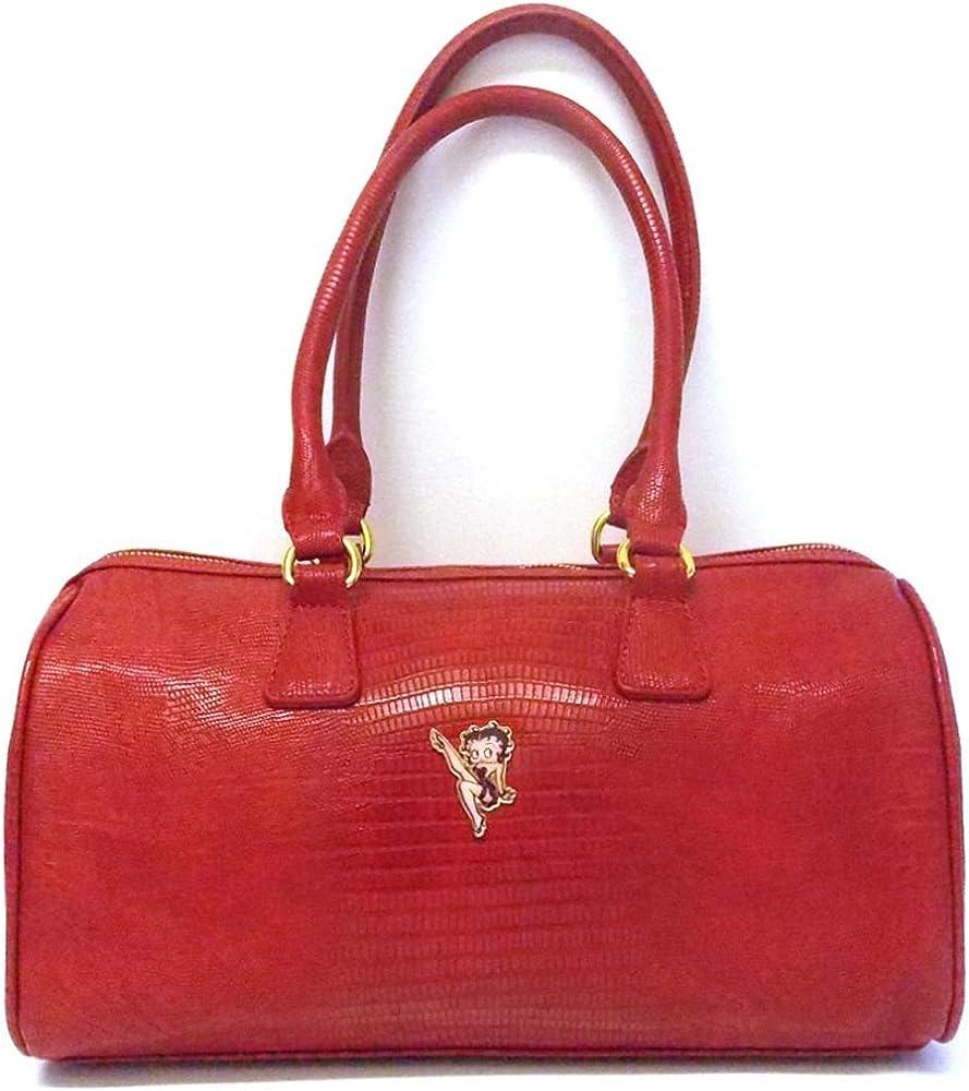 red Betty boop handbag betty boop bronnie handbag