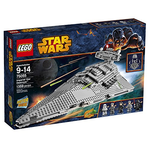 LEGO Star Wars Imperial Star Destroyer (75055) Speed Build