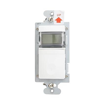 wattstopper rt-100-w Sensor de movimiento programable temporizador de cuenta atrás, 600
