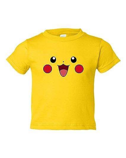 Tee Tee Monster Toddler Pikachu Pokemon Inspired Shirt (5T, Yellow)