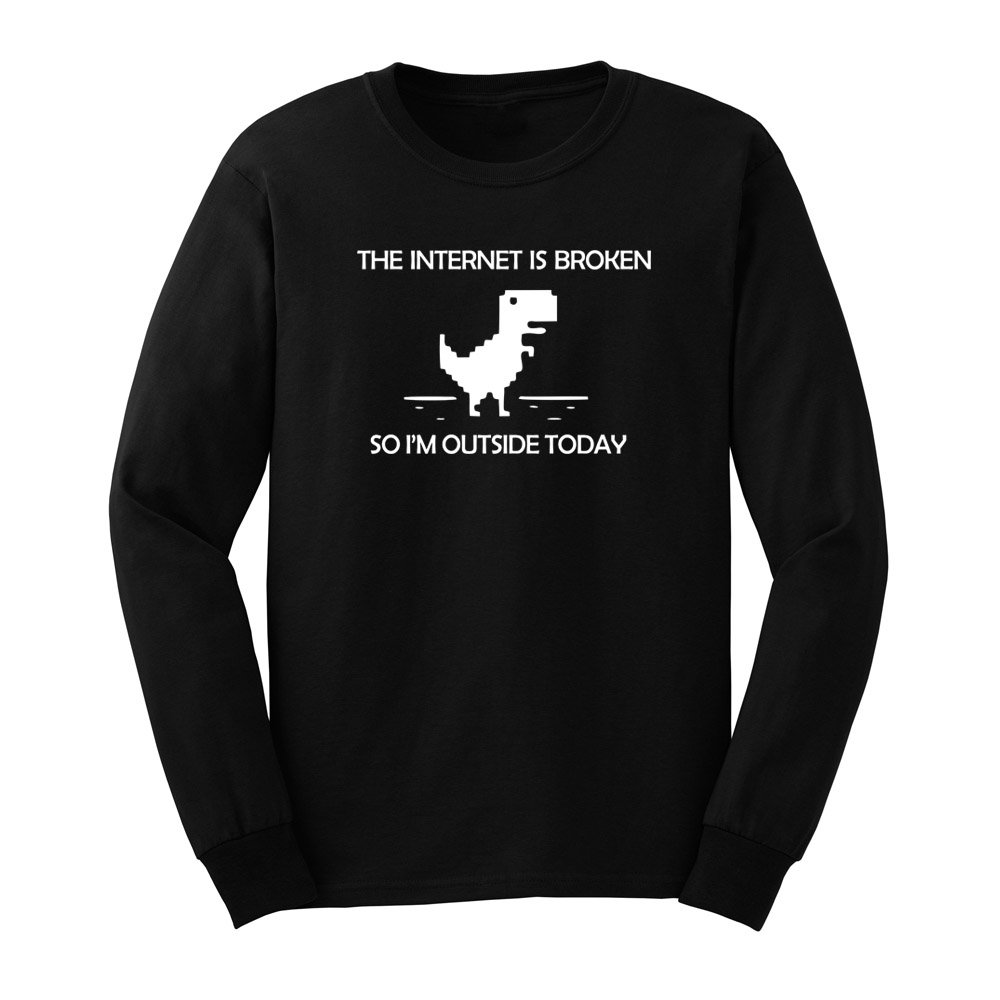 S The Internet Is Broken Funny Web Page Computer T Shirts Tee