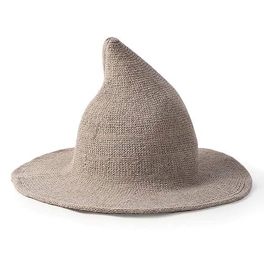 Phayee Lady Witch Hat Wife Blend de Lana Sombrero de Pescador de ...