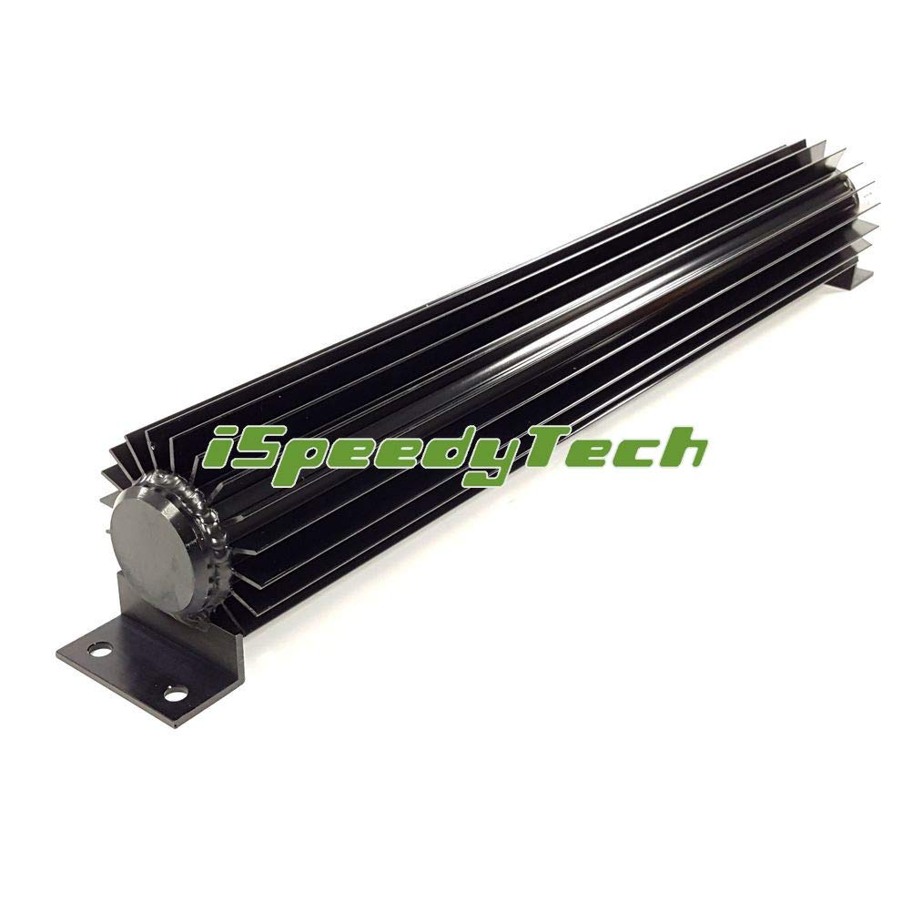 Ispeedytech 12 AUTO TRANSMISSION OIL COOLERS FINED ALLOY TRANSMISSION COOLERS DUAL PASS