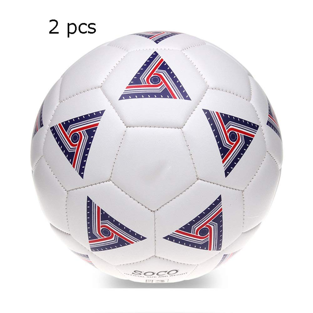 Jajx-os Kids Toys Soccer Size 3 PVC Girls Boys Soccer Training Ball Children's Toddler's Football Aged 3-6 Years Old Children for Indoor and Outdoor (Color : C1, Size : 3) by Jajx-os