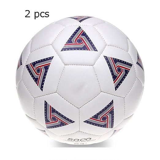 DorisAA-Football Tamaño 3 PVC Niñas Niños Fútbol Pelota de ...