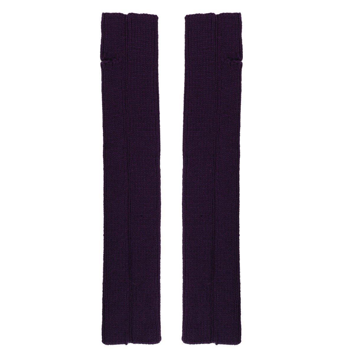 df170155a1d ... Freebily Femme Longue Chaussettes Laine Automne Hiver Chaud Bas Guêtre  Jambières Legging Tressé Tricot Crochet Jambières