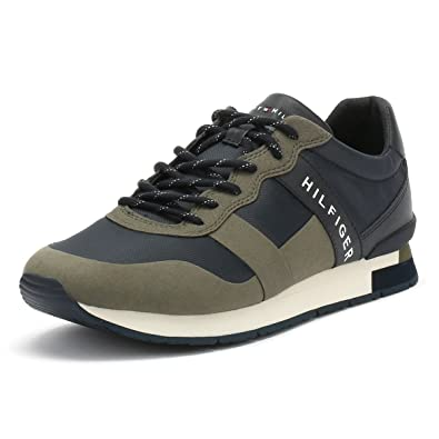 info for 86127 63d67 Tommy Hilfiger Herren Dusty Olive Grün Printed Runner ...