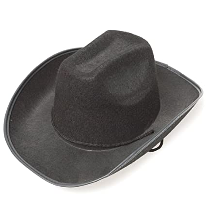 f76bfc2ea12c4 Image Unavailable. Image not available for. Color  Black Cowboy Hat