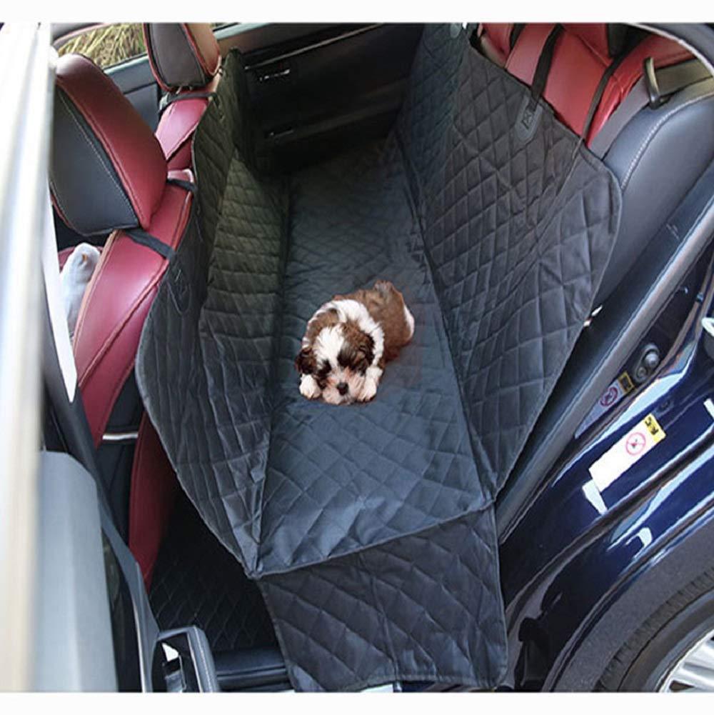 Dog Seat Cover, Dog Hammock for Back Seat, Large Back Seat Pet Seat Cover Hammock for Cars, Trucks, SUVs, Side Flaps